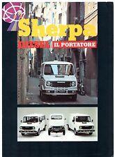 Leyland Sherpa Diesel 1979 Italian Market Foldout Sales Brochure 230 255