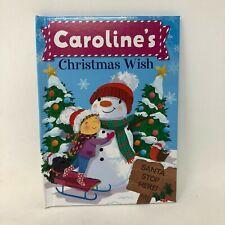 Christmas Wish Book Caroline Kid Name Personalize New Stocking Gift
