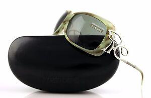 RARE New Genuine ROBERTO CAVALLI ADRASTO Tortoise Green SUNGLASSES RC 302S Q9964