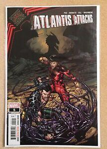 Atlantis Attacks 5 King in Black 1 Shang-Chi Silk New Agents of Atlas NM Stunner