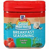 MCCORMICK GOOD MORNING BREAKFAST SEASONING ~ GARDEN HERB 1.44oz