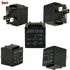 5Pin 12V/40A Automotive Car Relay Control Device Fan Battery Relays Waterproof