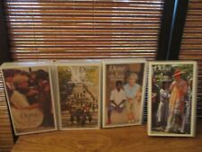 Princess Diana VHS Video Tapes -  Set of Four Touring / caring / Legacy / Child