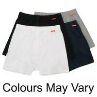 2 X Slazenger Mens Boxers Trunks 100% COTTON Quality Size XS Black White B533-14