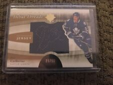 11/12 UD Ultimate Debut Threads Auto Jersey /50 #DT-JC Joe Colborne Maple Leafs