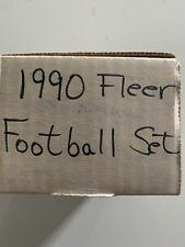 1990 Fleer football FULL COMPLETE SET #1-400