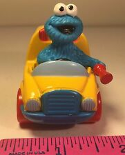 Sesame Street Cookie Monster Driving A School Bus Matchbox 1996 Jim Henson Inc
