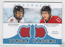 2012-13 Artifacts Tundra Tandems Jerseys Blue #TTFK Zack Kassian/Marcus Foligno