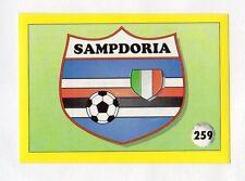 figurina IL GRANDE CALCIO VALLARDI 1992 NUMERO 259 SAMPDORIA SCUDETTO