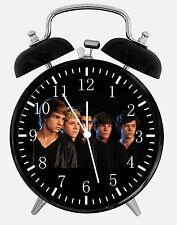 "One Direction Alarm Desk Clock 3.75"" Home or Office Decor X68 Nice For Gift"