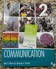 Communication : A Critical/Cultural Introduction 2nd Edition Second John Warren
