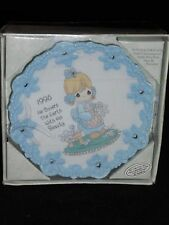 Enesco Precious Moments Collector Plate 1995 He Covers The Earth With His Beauty