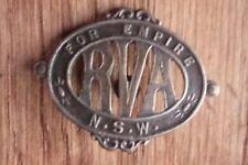 WWI NSW REJECTED VOLUNTEER ASSOCIATION BADGE