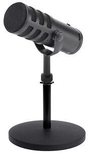 SAMSON SAQ9U USB/Analog Dynamic Broadcasting Recording Microphone+Weighted Stand