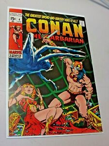 Conan the Barbarian #4 Marvel Comics 1971 Very High Grade Barry Smith Early MCU