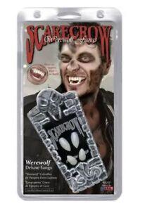 Deluxe Werewolf Fangs 2 Sets Vampire Dracula