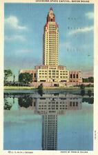 Baton Rouge, Louisiana, State Capitol, 1942 - Postcard (Y14)