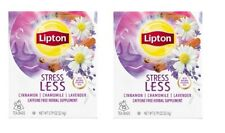 Lipton Stress Less Herbal Tea 2 Pack