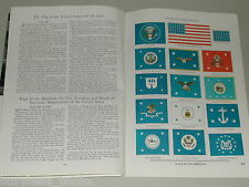 1949 magazine article, Flags of the Americas, country, political, military