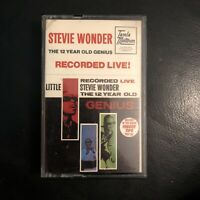 Stevie Wonder - The 12 Year Old Genius - Recorded Live [Cassette Album] (TP08)