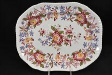 Spode Aster Red Gadroon 2/8130 Oval Serving Platter