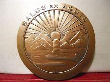 Médaille salus ex aquis Santé Eau Water Health Hérault Soleil Sun Design Medal