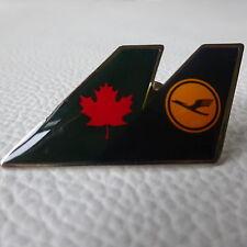 Lufthansa cooperación pin-air canada Star Alliance