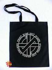 Crass lucha guerra no Wars Punk Retro Algodón Shopper Bolsa