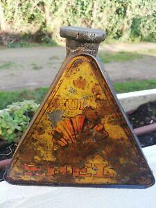 bidon d huile SHELL triangulaire