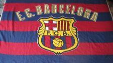 Bandera Flag Fahne F.C. BARCELONA Years 90 Size XL Vintage