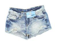 Womens Denim Co Blue Denim Shorts Size 8/L1