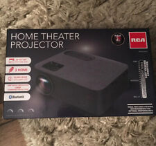 New listing Rca Home Theater Projector Rpj143-26Disp 1080p Hdmi Vga Av microSd Usb <150in