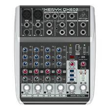 BEHRINGER XENYX QX602MP3 mixer analogico 6 canali + effetti studio live karaoke