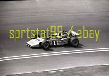 Mario Andretti #1 Car @ 1970 USAC California 500 - Vtg Race Negative 9748