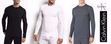 Calvin Klein Micro Modal Men's T-Shirt Crew Neck Long Sleeve Ck  U1139