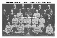 KILMARNOCK F.C. TEAM PRINT 1920 (SCOTTISH CUP WINNERS)