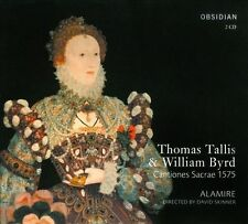 Thomas Tallis & William Byrd: Cantiones Sacrae 1575 New CD