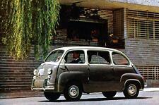1965 Fiat 600 600D Multipla Factory Photo J3488
