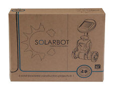 Solarbot - 6 IN 1 KIT-Robot, Airboat, elicottero, piano, Trike o Windmill