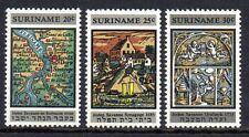 Suriname - 1968 Restauration synagogue Mi. 545-47 MNH