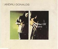 ANDRU DONALDS All Out of Love 3 RARE MIXES & EDIT CD
