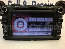 2011 - 2013 Kia Forte Navigation GPS Bluetooth MP3 Single CD 965601M125WK