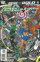 The Brave And the Bold Comic With Green Lantern Supergirl Issue 2 Waid Perez DC