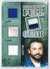 2013-14 BETWEEN THE PIPES FULL GEAR SILVER GRANT FUHR JERSEY / BLOCKER / TRAPPER