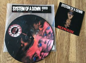 """SYSTEM OF A DOWN - B.Y.O.B 7"""" LIMITED PICTURE VINYL"""
