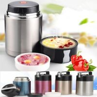 Stainless Steel Self Cooking Vacuum Pot Insulated Home Food Container Lunch Box