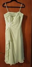 Beautiful Mint Green Dress.. Perfect for Proms, Mother of the Bride or Groom...