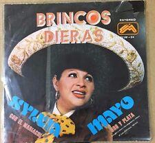 """SYLVIA MAYO -BRINCOS DIERAS- MEXICAN 7"""" SINGLE PS MARIACHI"""