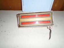 Used 1973 Ford Galaxie 500 2 Door; Left Rear Side Marker Light w/Bezel  #P100