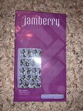 Jamberry Black & White Floral Nail Wraps New